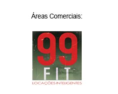 Áreas comerciais by 99 Fit